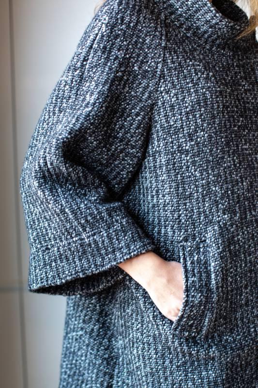 Blend Knit Coat CO-1009 Mixture