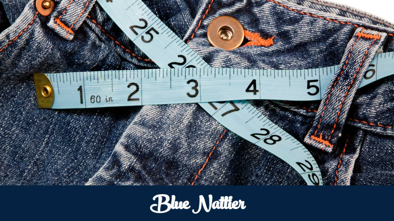 How to measure the waist to know the size of jeans you need