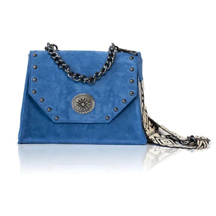 Kyra Blue Suede