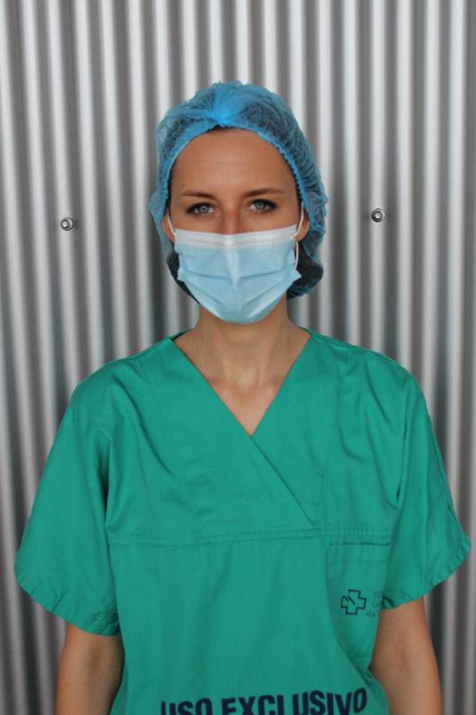 Fotografía de gorros sanitarios azules 301i D.