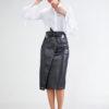 Falda Negra con Abertura 5