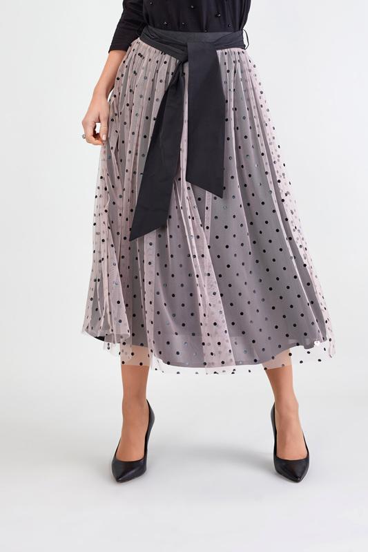 Falda de Tul con Lunares 2
