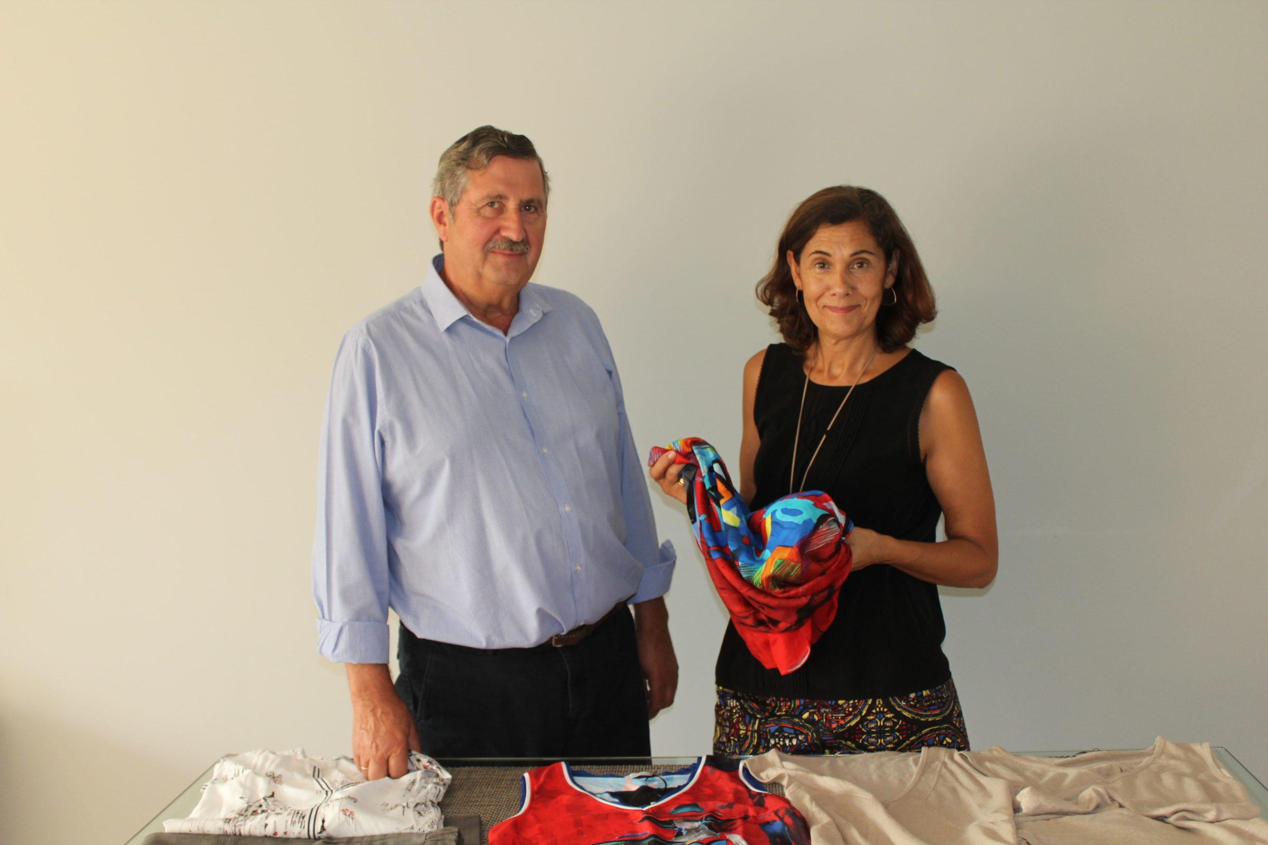 Valentín Camaño y Clara González, fundadores de Blue Nattier